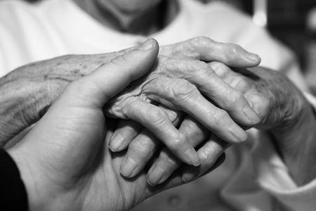 Caregiver - nursing home Stock Photo - 3983062
