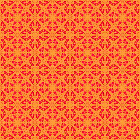 sized: Vector seamless pattern. Modern stylish texture. Repeating geometric background with rhombus and nodes from rhombuses with circles variously sized in nodes