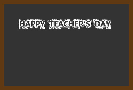 noticeboard: Teacher Day honors  teacher contributions. Thank You! Annual holiday in United States on Tuesday of first full week of May. Illustration