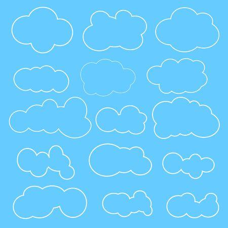 sky: . Sky cloud. Sky background Illustration