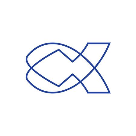 ictus: Jesus Fish Icon Set
