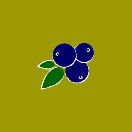 juniper icon. Illustration