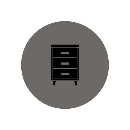 joinery: Nightstand vector icon