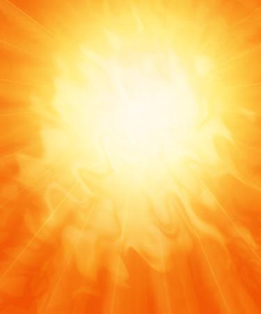 太陽、炎のような抽象的な背景。 写真素材