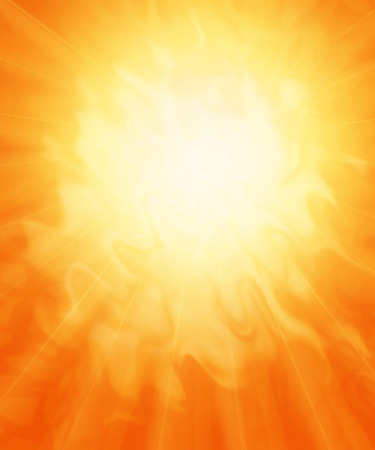 orange color: Sun, fiery abstract background.