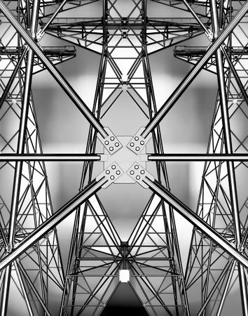 torres el�ctricas: Las torres de electricidad.