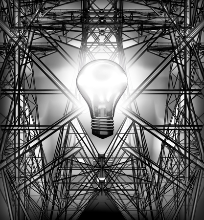 torres de alta tension: Las torres de electricidad.