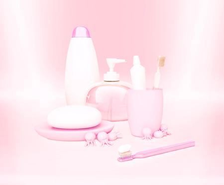 cremas faciales: ni�os de higiene ma�ana