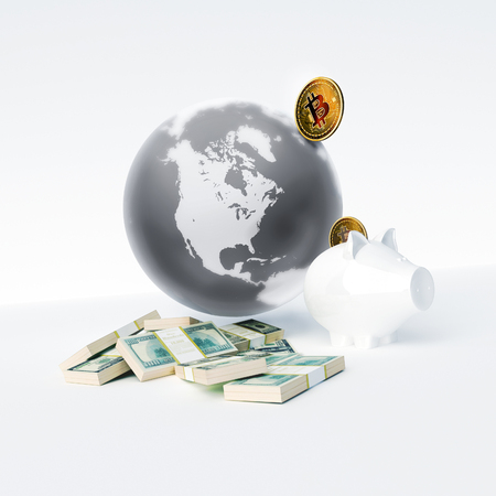 Bitcoin as a symbol world currency. globalization globalize worldwide universal global international. To Buy Bitcoins. To accumulate bitcoins.