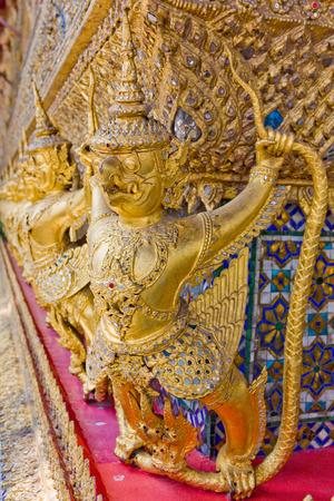 garuda: Garuda in Thailand Temple Stock Photo