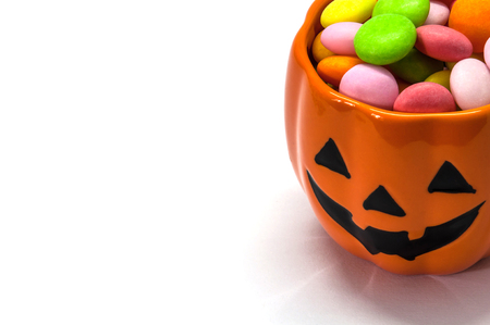 halloween background: Halloween candies