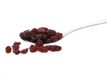 Raisins isolated on white background Reklamní fotografie