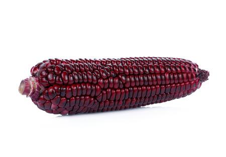 purple corn isolated on white background