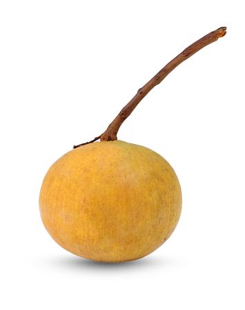 Santol fruit isolated on white background. 写真素材