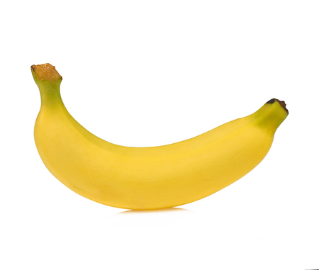 Banana isolated on white background. 写真素材