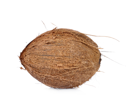coconuts isolated on the white background 写真素材