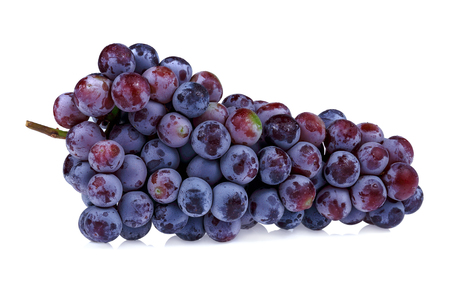 Grapes isolated on white background 写真素材 - 105601903
