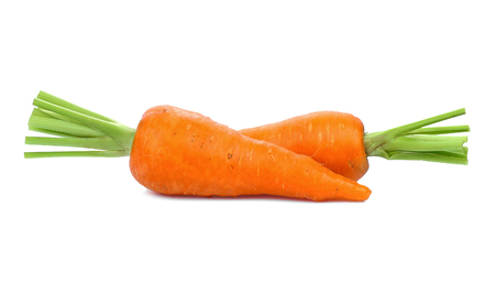 Carrot isolated on white background 写真素材