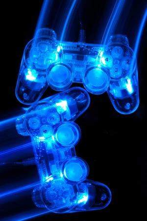 video gaming: Joystick