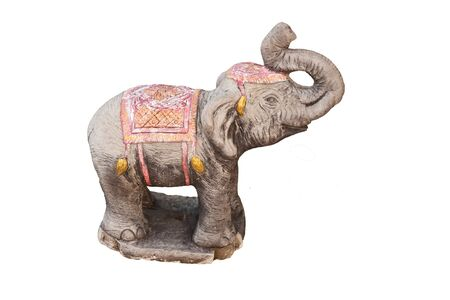 Elephant Statue  Taken from a temple in Thailand  Stock Photo