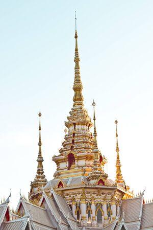 Thai temple  Symbol of Buddhism