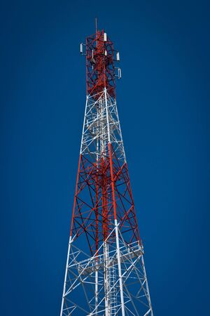 Transmission towers  Stock Photo