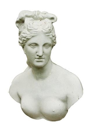 Greek statues of women  Stock Photo