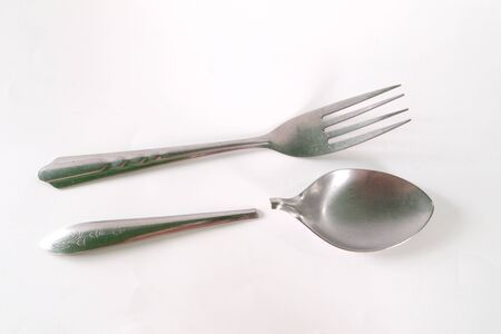 Spoon has been damaged photo