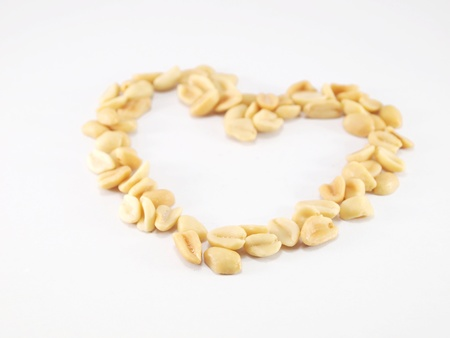 Peanut is a heart-shaped arrangement