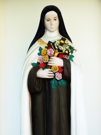 Virgin Mary statue photo