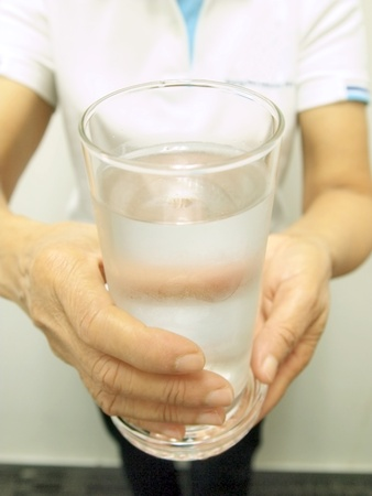 Serve the water