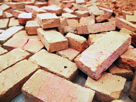 fireclay: Broken bricks