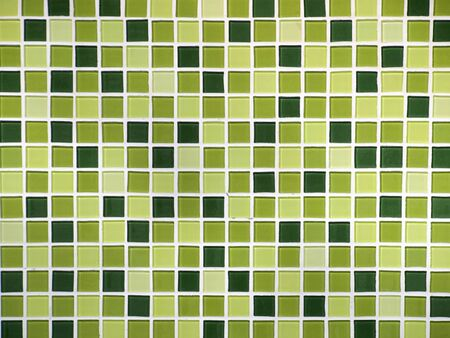 Pattern on the tiles in the bathroom wall photo