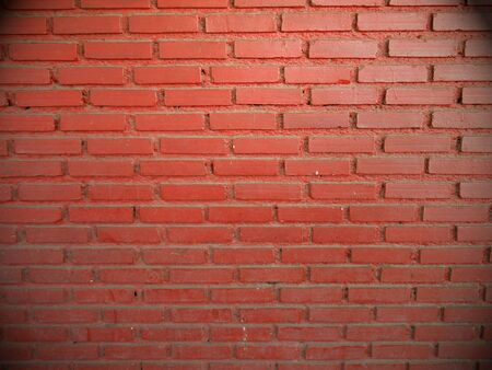 bulwark: old red brick wall texture