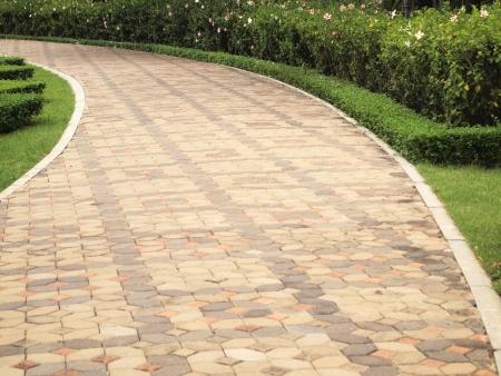 Stone pathway photo