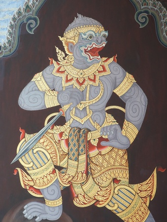 Hanuman in Ramayana story  photo