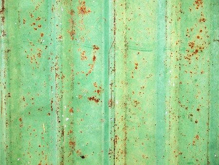 rusty corrugated iron metal texture  Stock Photo