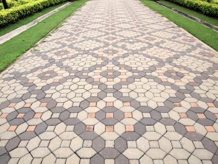 Stone pathway Standard-Bild