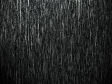 Rain on black. Abstract background photo