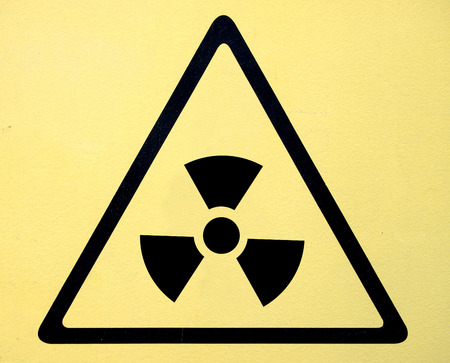 radioisotope: Radiation hazard symbol sign of radhaz threat alert icon