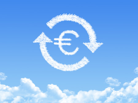 refinance: refinance sign a cloud shape on sky