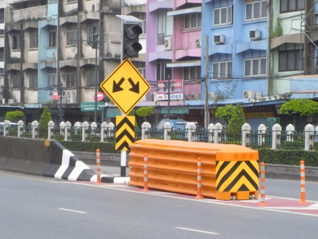 Road signs Editorial