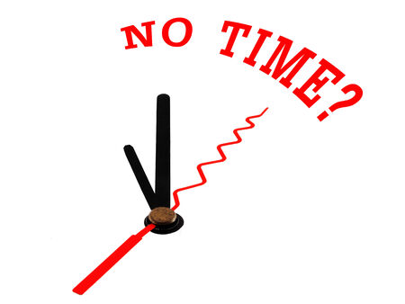 no time: An image of a nice clock with no time ?