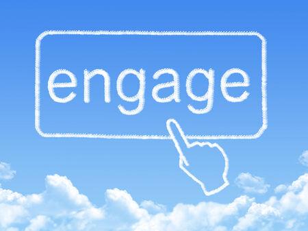 engage message cloud shape
