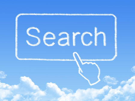 searchengine: search message cloud shape