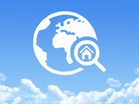 home search cloud shape