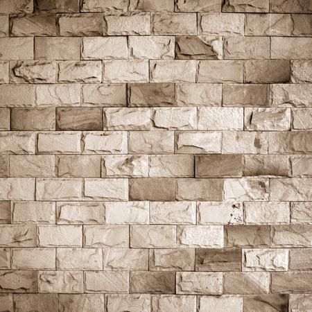 Patterns on the brick wall