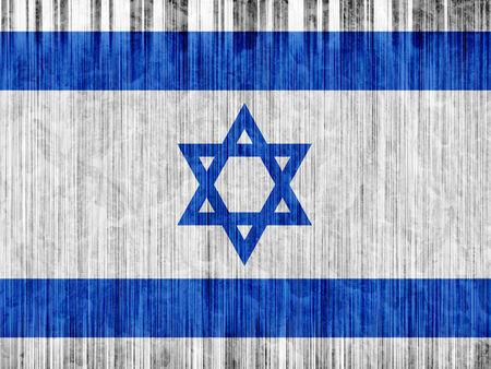 regional: Israel flag paper texture