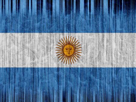 bandera argentina: Argentina bandera de papel de textura
