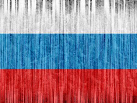 bandera rusia: Rusia bandera de papel de textura Foto de archivo